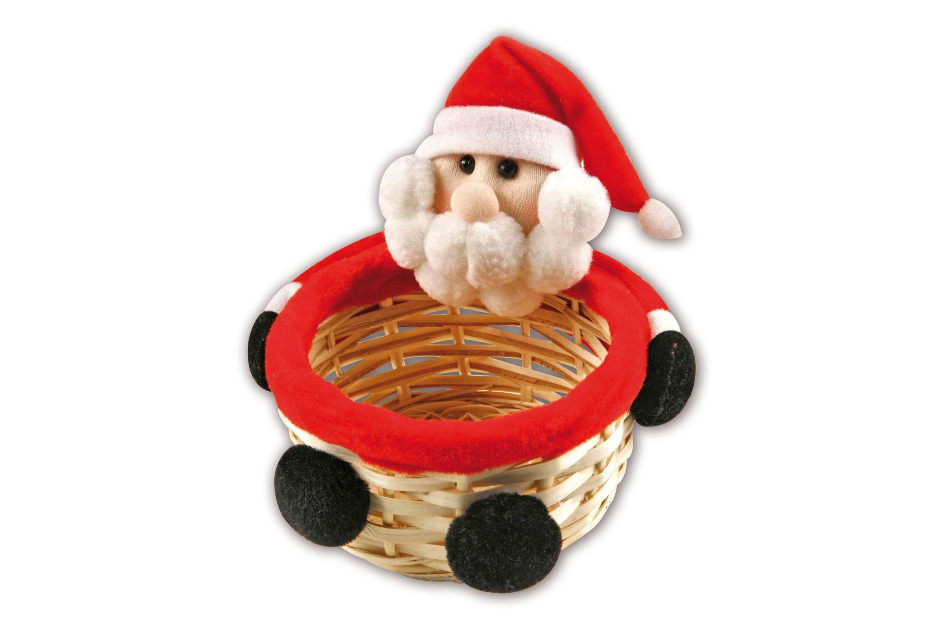 Weihnachtskörbchen Motiv Nikolaus