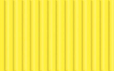 Feinwellpappe, citronengelb