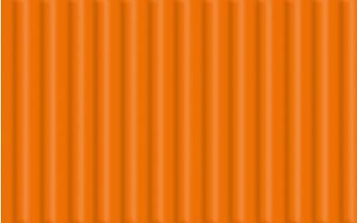 Feinwellpappe, orange