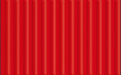 Feinwellpappe, rubinrot