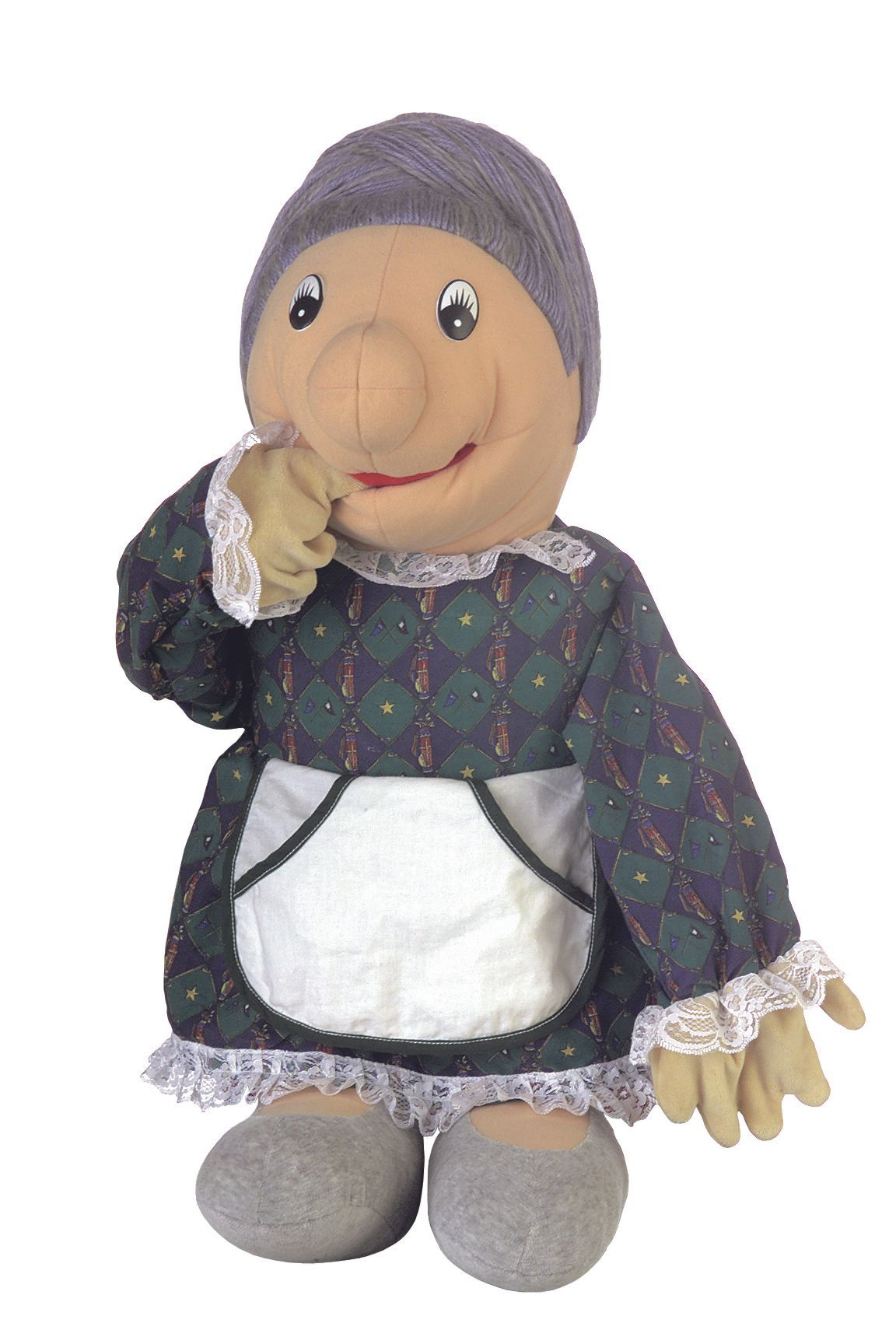 Große Handpuppe Oma