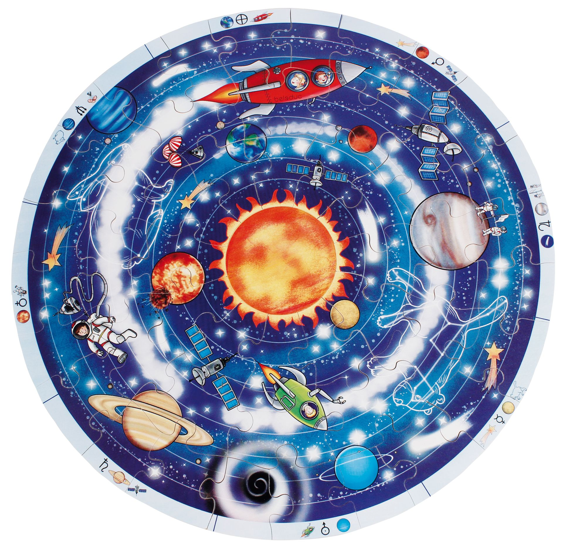 XXL Lernpuzzle Planeten
