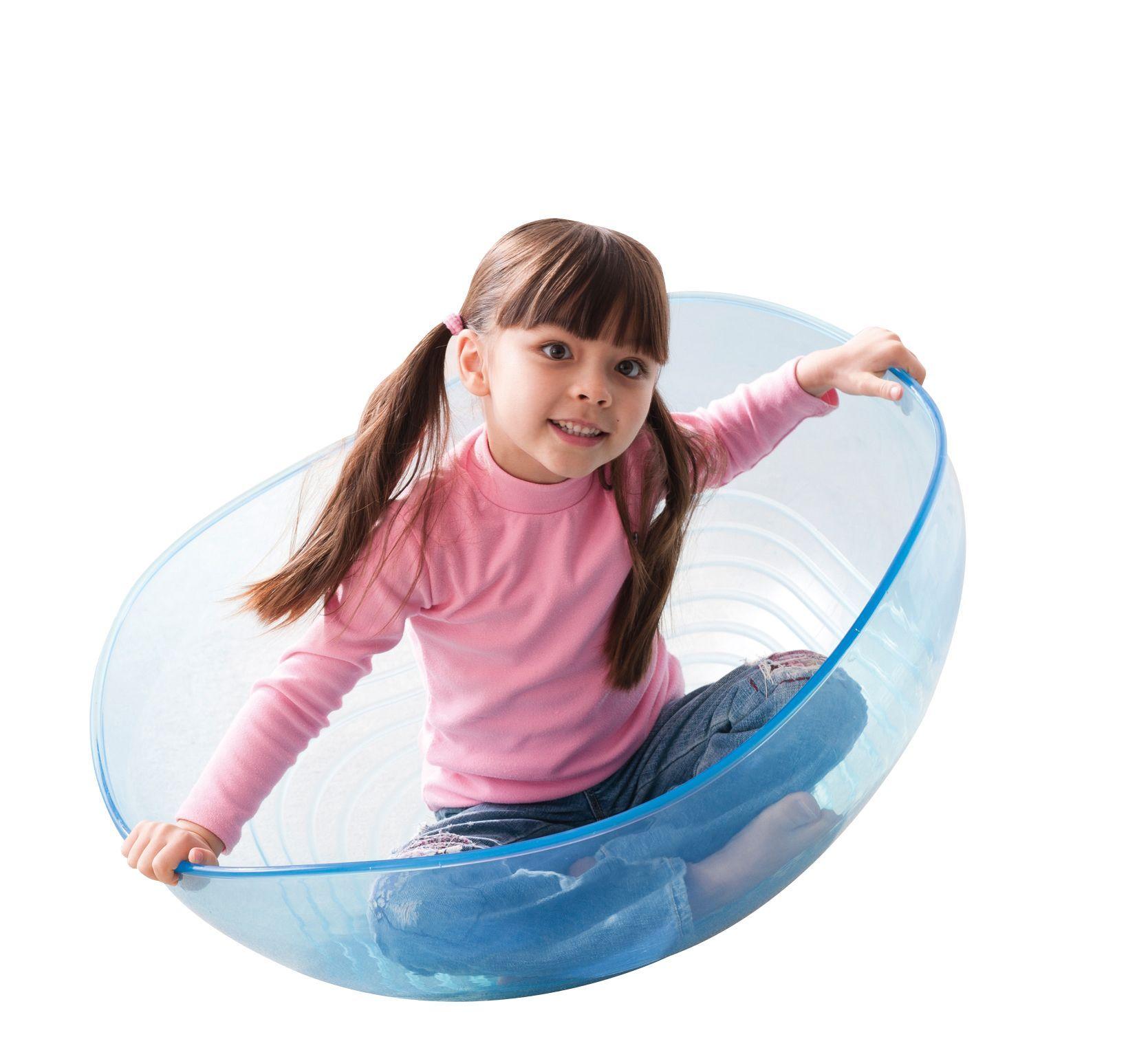 Spielkugel transparent