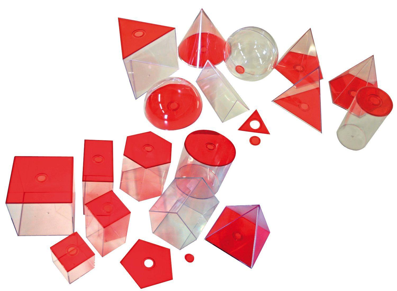 Geometrische Elemente rot