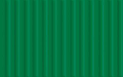 Feinwellpappe, dunkelgrün