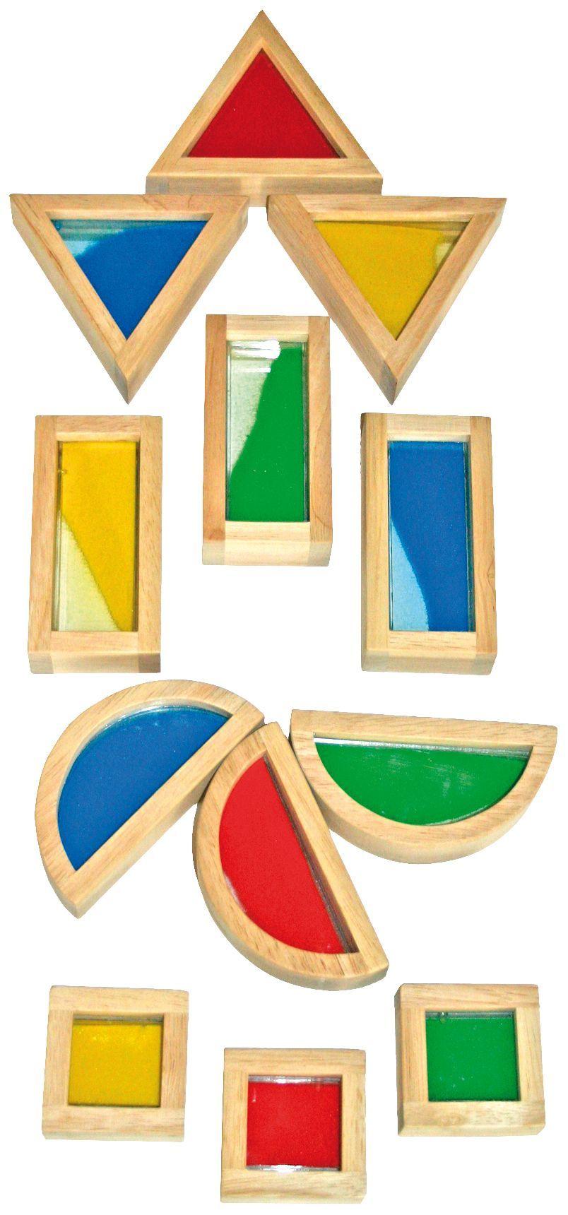 Sandbausteine-Set, 16-tlg.