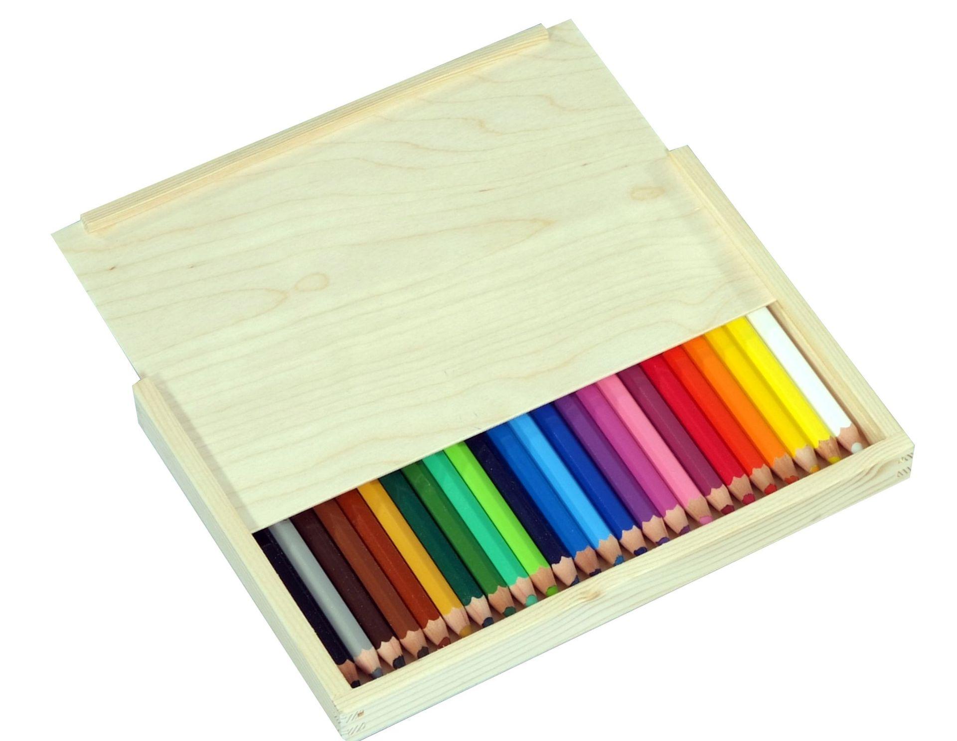 Aqua Farbfuchs 24er in Holzbox